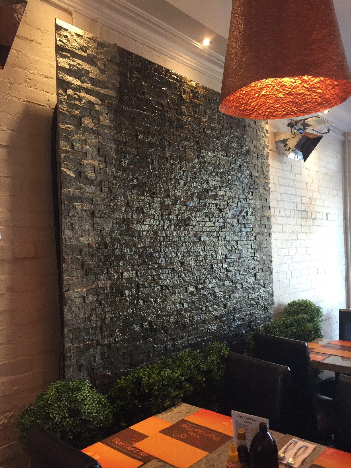 DIY Wall Cascading Water Features with Stone Cladding ...